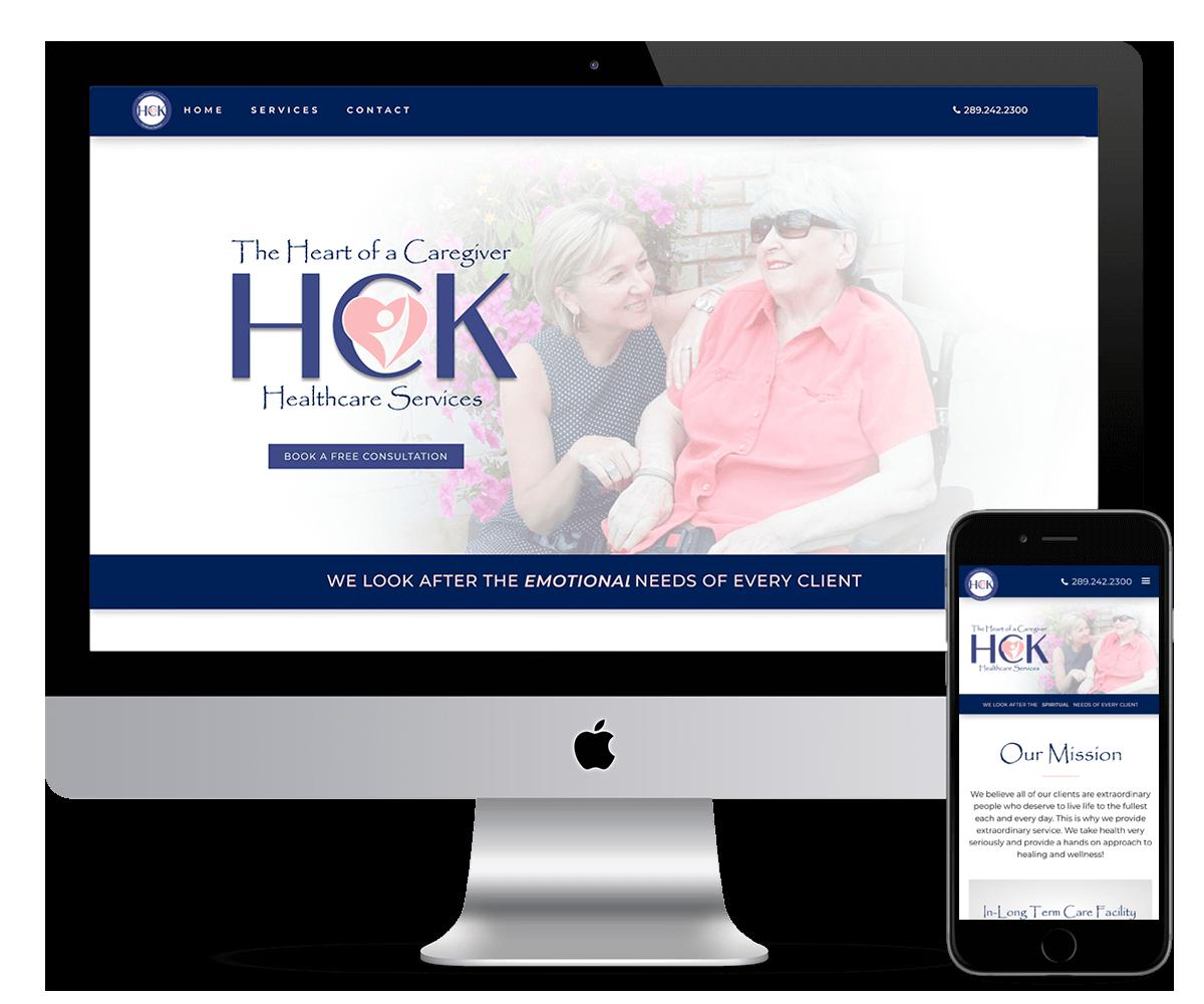 HCK- HEALTCARE website
