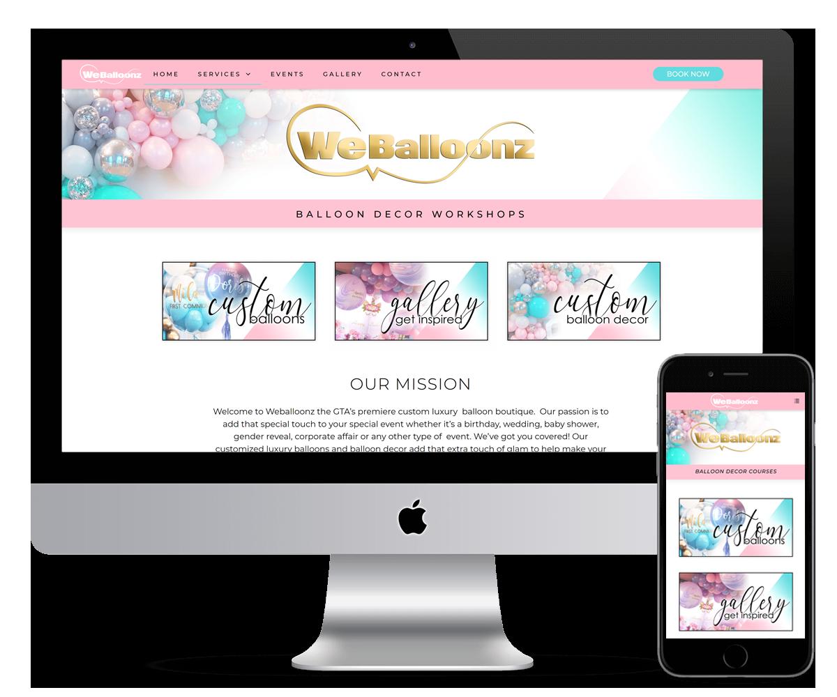 WEB BALLOONZ - WEB